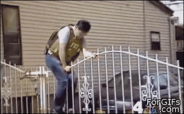 Que policia tan bruto!