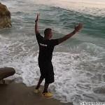 Lo atrapo la ola!