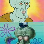 Create Squidward Meme