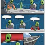 Create Alien Meeting Suggestion Meme
