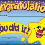 Create Happy Star Congratulations Meme
